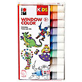 Marabu KIDS Window Color-Set Grundfarben