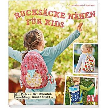 Buch 'Rucksäcke nähen für Kids'