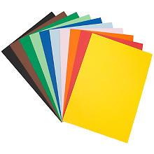 Papier cartonné teinté, multicolore, 50 x 65 cm, 50 feuilles
