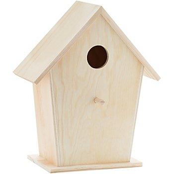 Vogelhaus aus Holz, 20 x 10 x 24 cm