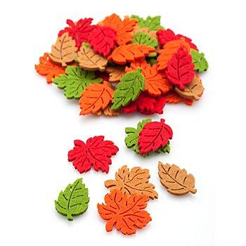 Streuteile 'Blätter', 3,5 cm, 48 Stück