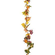 Guirlande décorative 'feuilles automnales', 1,95 m