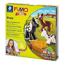 Fimo kids form & play - Kit créatif 'Poney'
