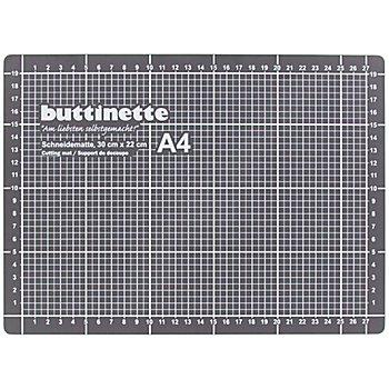 buttinette Schneidematte, 30 x 22 cm, grau