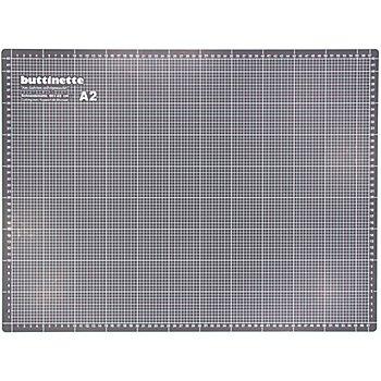 buttinette Schneidematte, 60 x 45 cm, grau