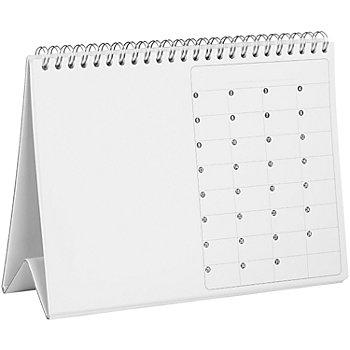 Tischkalender, weiss, A5