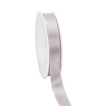 Satinband, silber, 15 mm, 20 m