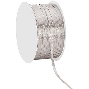 Satinband, silber, 3 mm, 50 m