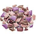 Flip Keramik-Mosaik mini, lila-mix, 1–2 cm, 200 g