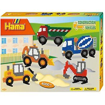 Hama Bügelperlen-Set 'Baufahrzeuge'