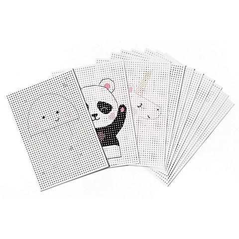 Image of Stickkarton, weiss, 17,5 x 24,5 cm, 40 Blatt