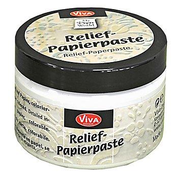 Relief-Papierpaste 'altweiß', 150 ml