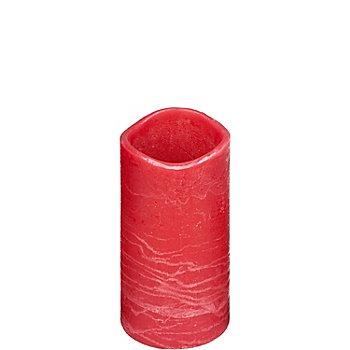 LED Kerze, 20 x 10 cm Ø, rot