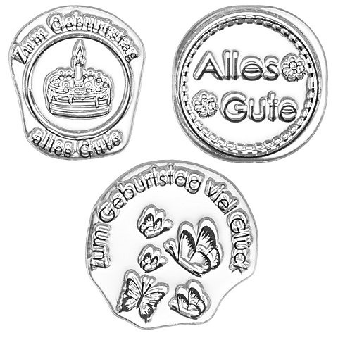 """Image of Clear Stempel-Set """"Alles Gute"""""""