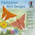"Ursus Faltblätter ""Mini Designs"", 15 x 15 cm, 120 Blatt"