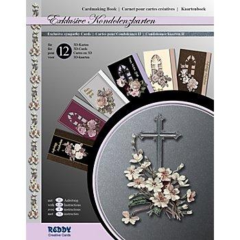 Kit créatif pour cartes 3D 'condoléances II'
