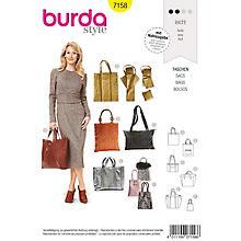 burda Schnitt 7158 'Shopper-Taschen'