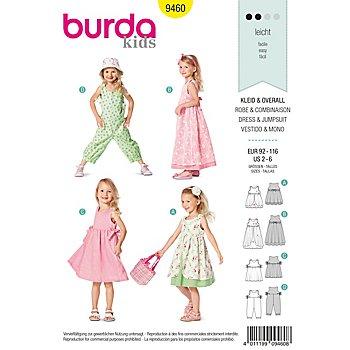 burda Schnitt 9460 'Sommerkleid & Overall'