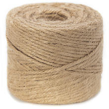 Cordon de jute, couleur naturelle, 3,5 mm, 200 g