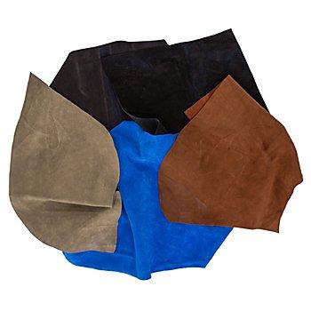 Paquet surprise de chutes de cuir véritable, 500 g