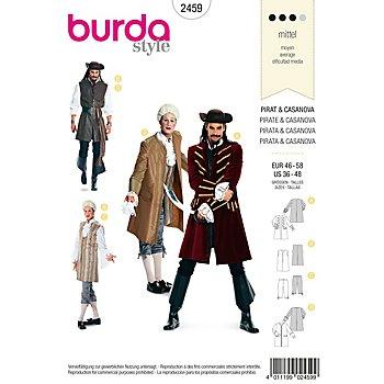 burda Schnitt 2459 'Pirat & Casanova'