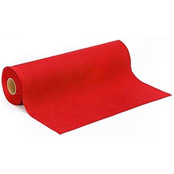 Feutrine, rouge vif, 0,9 mm, rouleau de 10 m