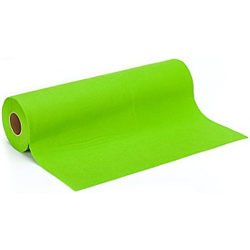 Filz, Stärke 0,9 mm, 10 m Rolle, hellgrün