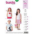 """burda Schnitt 9439 """"Shirt Basic"""" für Kinder"""