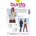 "burda Schnitt 7148 ""Sweat-Modelle Young"""