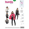 "burda Schnitt 7313 ""Cape Young"""