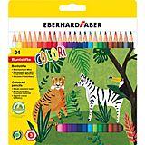 Farbstifte-Set, bunt, 24 Stifte