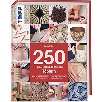 Buch '250 Tipps, Tricks & Techniken - Töpfern'