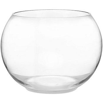 Glasgefäß, rund, 19,5 cm Ø