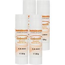 buttinette Klebestift, 20 g, 4 Stück