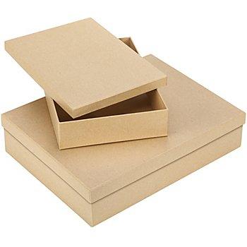 Rechteckige Pappschachteln