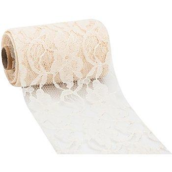 Spitzenband, creme, 120 mm, 10 m