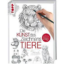 Buch 'Die Kunst des Zeichnens Tiere'