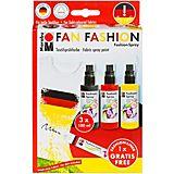 """Marabu Fashion-Spray-Set """"Fan Fashion"""", 3x 100 ml"""