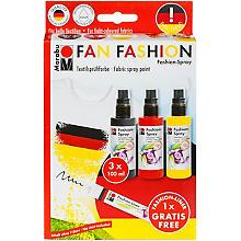 Marabu Fashion-Spray-Set 'Fan Fashion', 3x 100 ml
