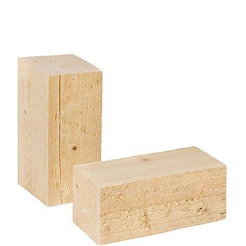 Kantholz, 15 cm, 2 Stück