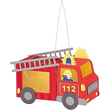 Mini-Laternenset 'Feuerwehrauto'