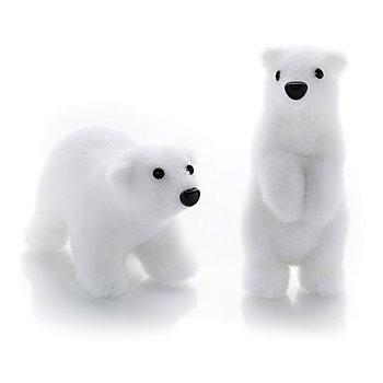 Ours polaires, blanc, 8 - 13 cm, 2 pièces