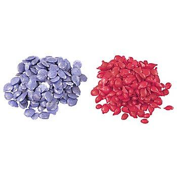 Färbepastillen, rosa/hellblau