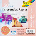 Folia Papier pliage irisé