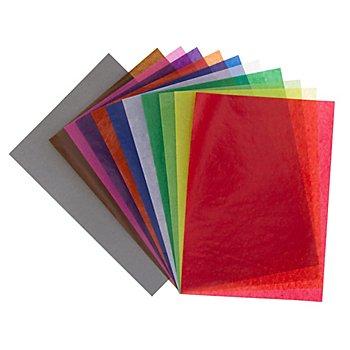 Transparentpapier, bunt, A4, 50 Blatt