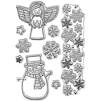 Clear Stempel-Set 'Winterzeit'