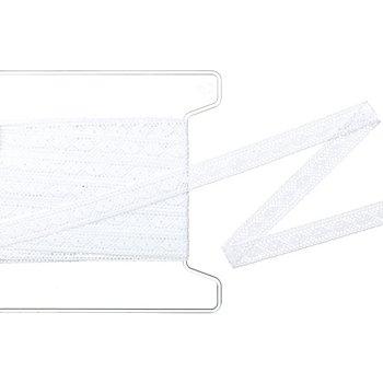 Klöppelspitze-Borte, weiß, Breite 1,5 cm, Länge 5 m