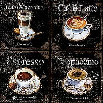 Serviettes en papier 'Café'