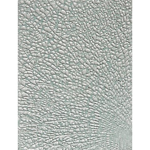 Image of Crackle-/ Safety-Mosaik, kristall, 15 x 20 cm