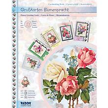 3D-Bastelmappe Grusskarten 'Blumenpracht I', für 12 Karten